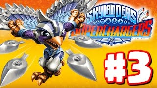 Skylanders Superchargers Gameplay Walkthrough Part 3  - Rescue The Dragon! - Chapter 7 8 9