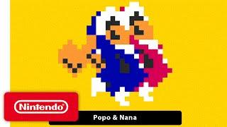 Super Mario Maker – 'Ice Climber' Gameplay