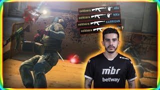 How it feels to play CS:GO against COLDZERA?