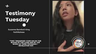 Testimony Tuesday Featuring Suzanne Bamford King