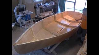 Sailboat Building Timelapse, 16footer, Part 2