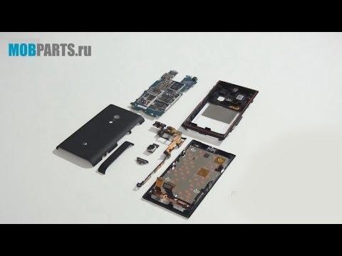 Sony Xperia Acro S LT26w как разобрать, ремонт и сборка