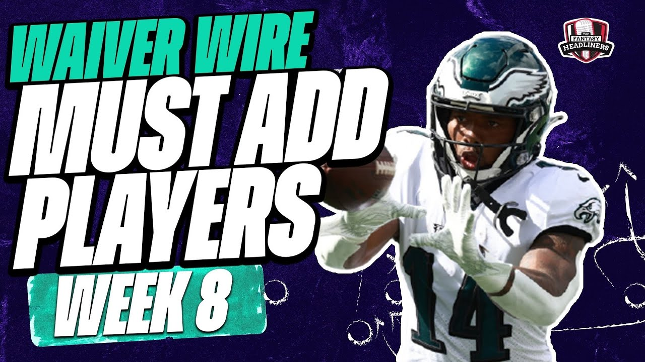 Fantasy football waiver wire advice, Week 8: Best RBs to consider ...