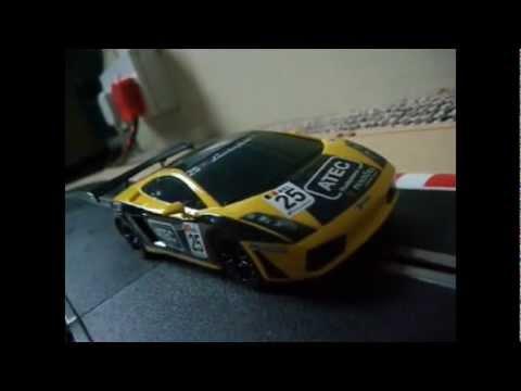 Scalextric Test Drive: Lamborghini Gallardo GT