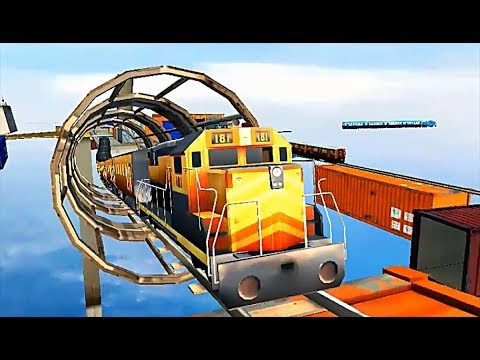 Impossible Train Sim - Level 5 (Android Game)