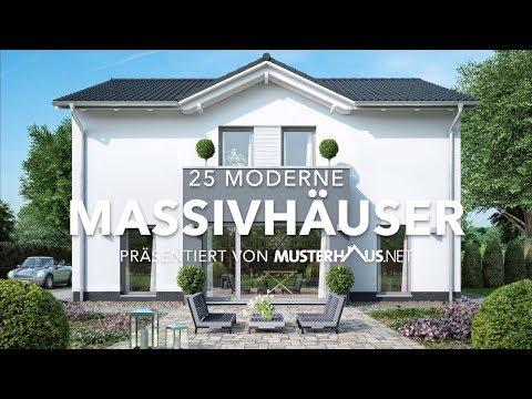20 moderne Massivhäuser