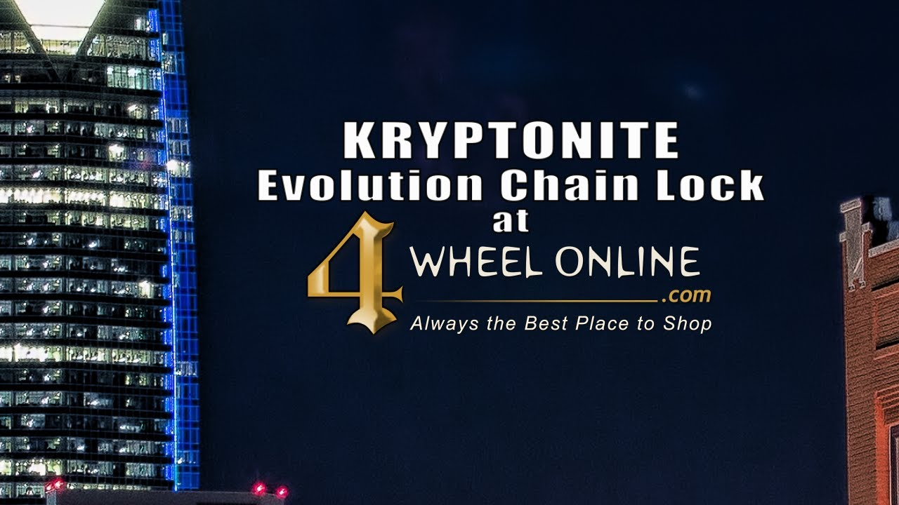Buy Kryptonite Evolution Series 4 1090 Integrated Chain