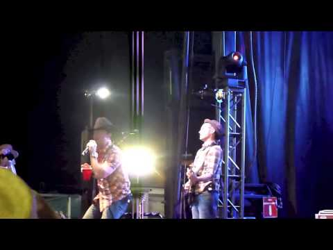 Aaron Pritchett Suntan City live at Funtastic Vernon BC Canada Day weekend 2013