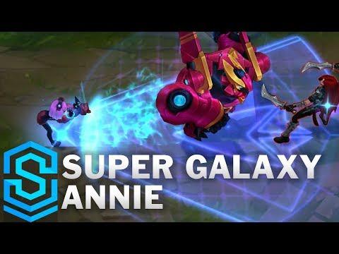 Super Galaxy Annie (2020) Skin Spotlight - League of Legends