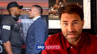 Eddie Hearn reveals AJ vs Pulev is being considered at 'a smaller venue' in front of fans!