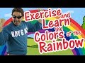 Exercise and Learn the Colors of the Rainbow | Color Song for Kids | Jack Hartmann