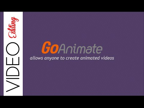 GoAnimate / Review / Tutorial - What I use to create and edit my ANIMATION videos!