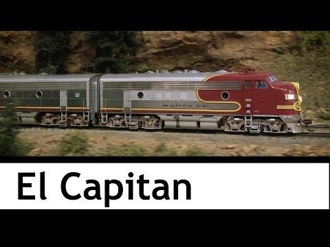 Santa Fe's El Capitan at the Colorado Model Railroad Museum