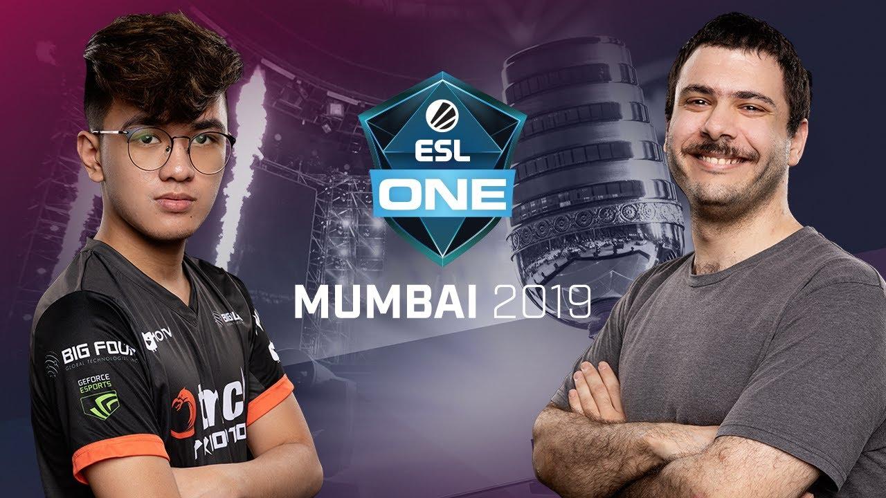 Team Team vs. TNC Predator - Game 2 - LB Ro4b #1 - ESL One Mumbai 2019