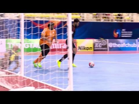 Al Dhafra vs Al Rayyan (AFC Futsal Club Championship 2017: Quarter-Finals)
