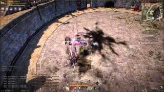 【Fury】Black Desert 黒い砂漠 PvP Warrior VS Sorcerer【対練】