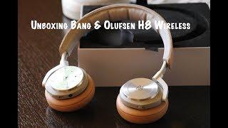Unboxing Sluchátka Bang & Olufsen H8 Wireless