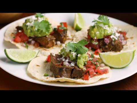 How To Make Carne Asada Tacos For Taco Night • Tasty