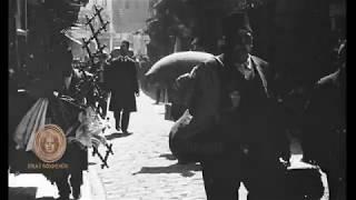 1915 - İstanbul Sokakları Ve Açık Hava Berberleri