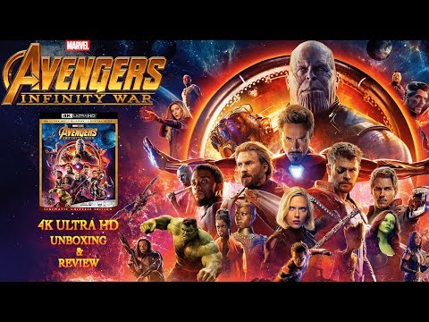 Avengers: Infinity War - 4K Ultra HD - Unboxing & Review  | BLURAY DAN