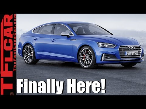 2018 Audi A5/S5 Sportback 5-Door Everything You Ever Wanted to Know