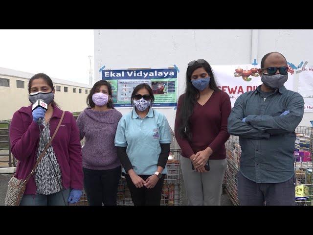 World Vegan Vision & Sewa Diwali Food Distribution - Bound Brook in Somerset - New Jersey