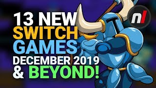 13 Exciting New Games Coming to Nintendo Switch - December 2019 & Beyond!