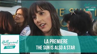 THE SUN IS ALSO A STAR  (2019) | Interviews With The CAST At The LA Premiere With RICK HONG