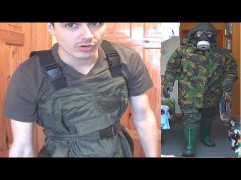 Improved Improvised NBC/CBRN Suit