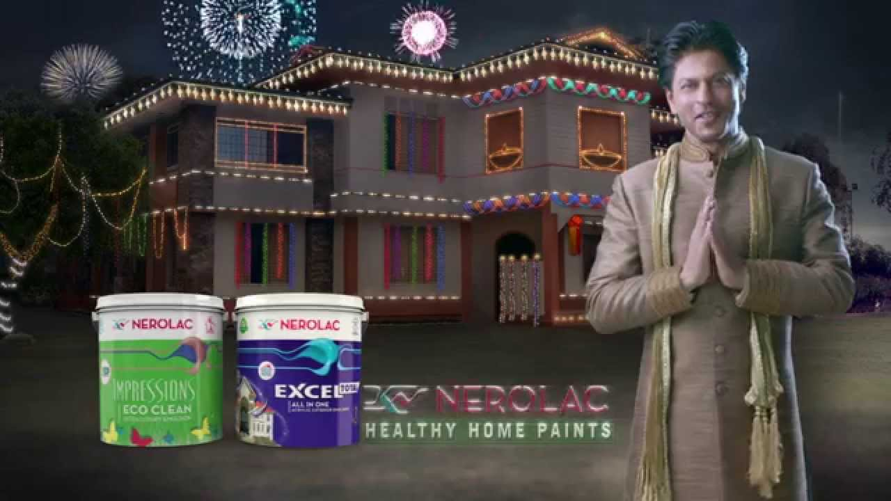 Nerolac Paints New Tv Ad For Diwali 2015 With Shahrukh