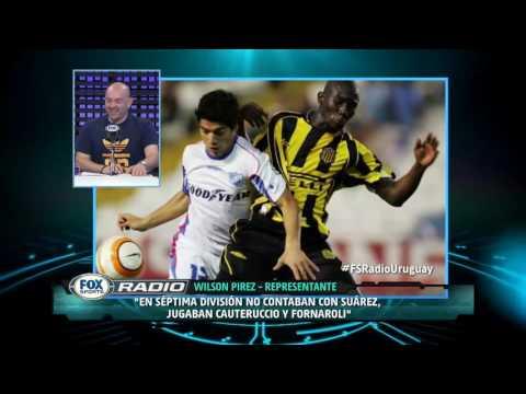 WILSON PIREZ FOX SPORTS URUGUAY - SUAREZ - BOTA DE ORO