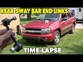 Rear Sway Bar Link Ends Replacement. 02 -09 TrailBlazer. Time-Lapse.