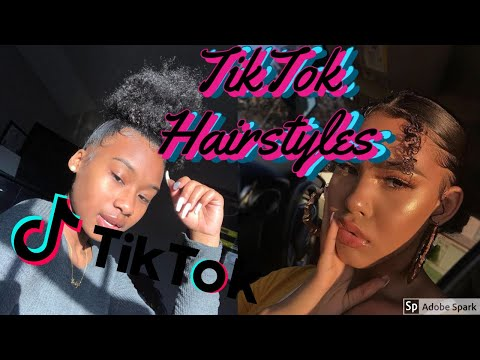 💇🏽‍♀️🌸THE BEST TIK TOK HAIRSTYLES FOR ALL HAIR TYPES| TIK TOK NATURAL HAIRSTYLES| BeautyInAllHair
