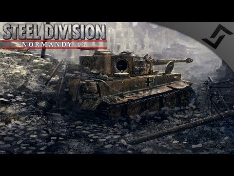 Tiger Ambush! Guards Armoured - Steel Division: Normandy 44 Multiplayer Gameplay