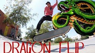 DRAGON FLIP (360 Dolphin flip)   Trick Challenge
