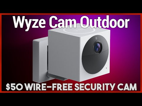 Wyze Cam Outdoor Review - $50 Wireless & Weatherproof Security Camera System