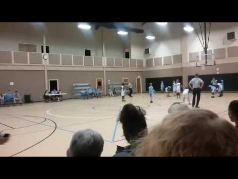 My basketball game