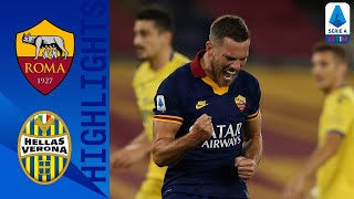 Roma 2-1 Hellas Verona | Dzeko Scores As Roma Hold On For A 2-1 Win At Home! | Serie A TIM
