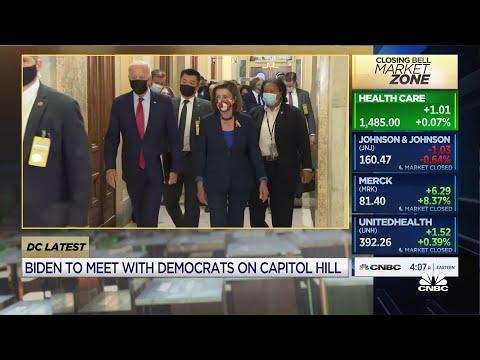 President Biden to meet with Democratic lawmakers