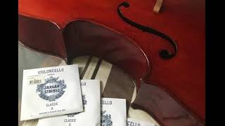 Jargar Classic Cello Strings demonstration