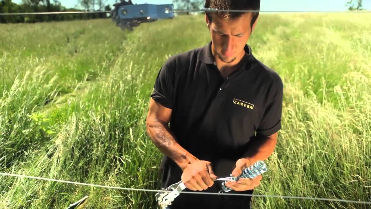 High Tensile Wire Tensioning Tips from Zareba® Systems - YouTube