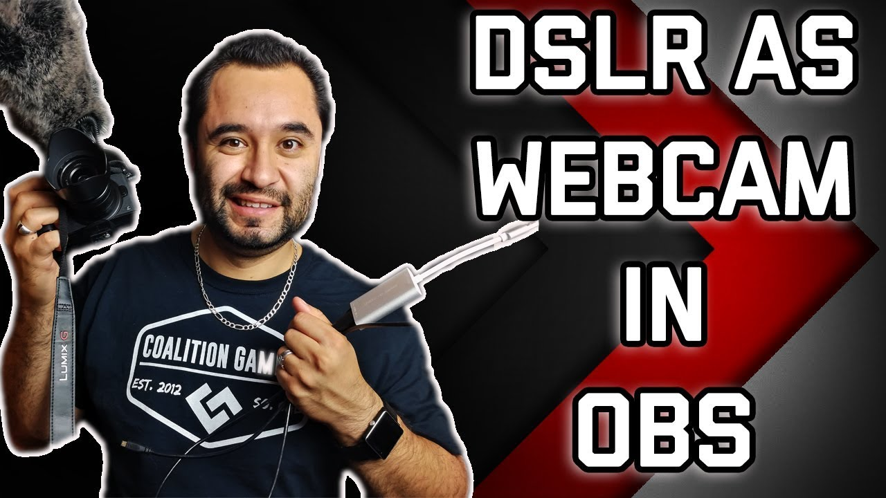 DSLR as Webcam in OBS // Capture Card Quality Test