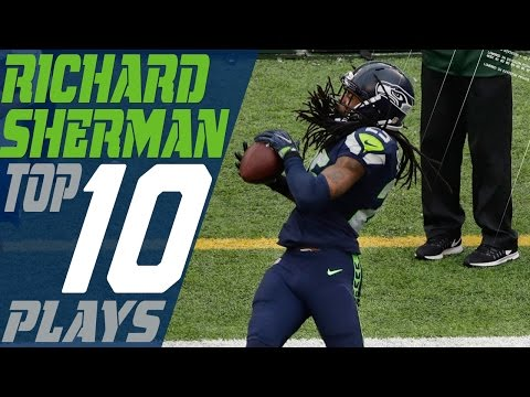 Richard Sherman's Top 10 Plays of the 2016 Season | Seattle Seahawks | NFL Highlights