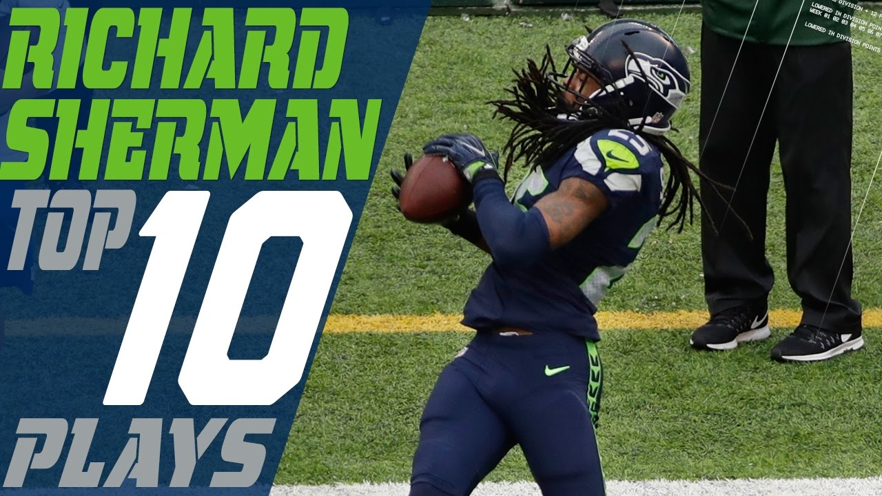 Richard Sherman S Top 10 Plays Of The 2016 Season Seattle Seahawks Nfl Highlights