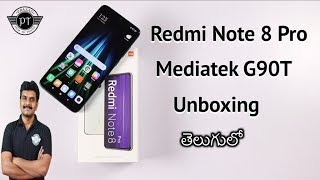 Redmi Note 8 Pro Unboxing & initial impressions ll in Telugu ll