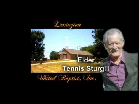 ELDER TENNIS STURGILL ~ Preaching at LUBC Union Meeting April 2013