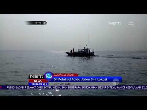 Sinyal Ping Black Box Lion Air JT 610 Sudah Dilokalisir   NET10 Mp3