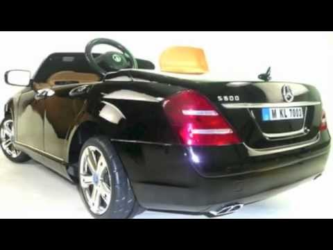 mercedes s class s600 kids electric 6v ride on car youtube