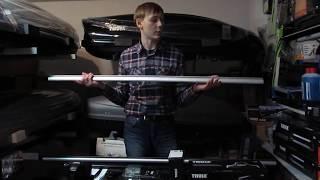 Багажник Thule TH 754 на гладкую крышу обзор