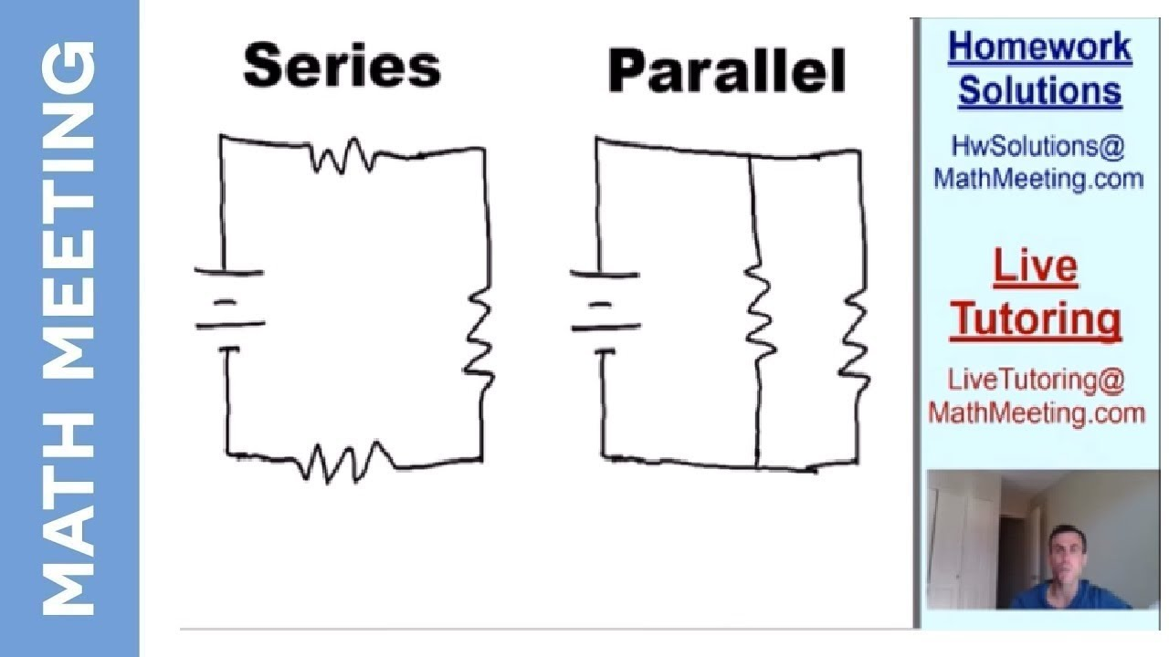 Introduction To Circuits Series Vs Parallel Youtube Circuit Examples